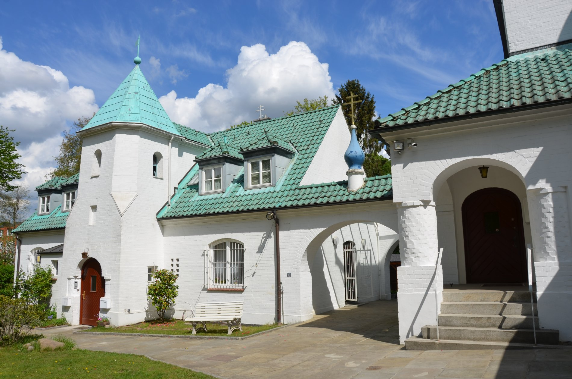 Russisch Orthodoxe Kirche Nebengebäude