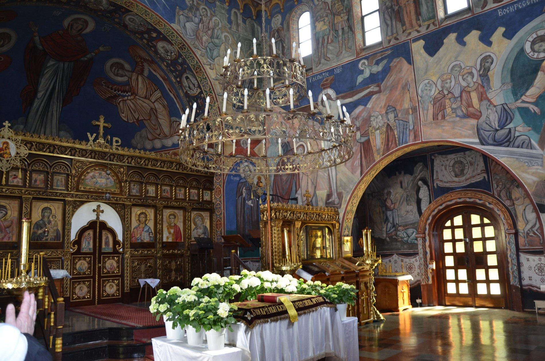 Russisch Orthodoxe Kirche Seitenausgang - Ostern in der russisch-orthodoxen Kirche findet zeitversetzt zu unserem Osterfest statt