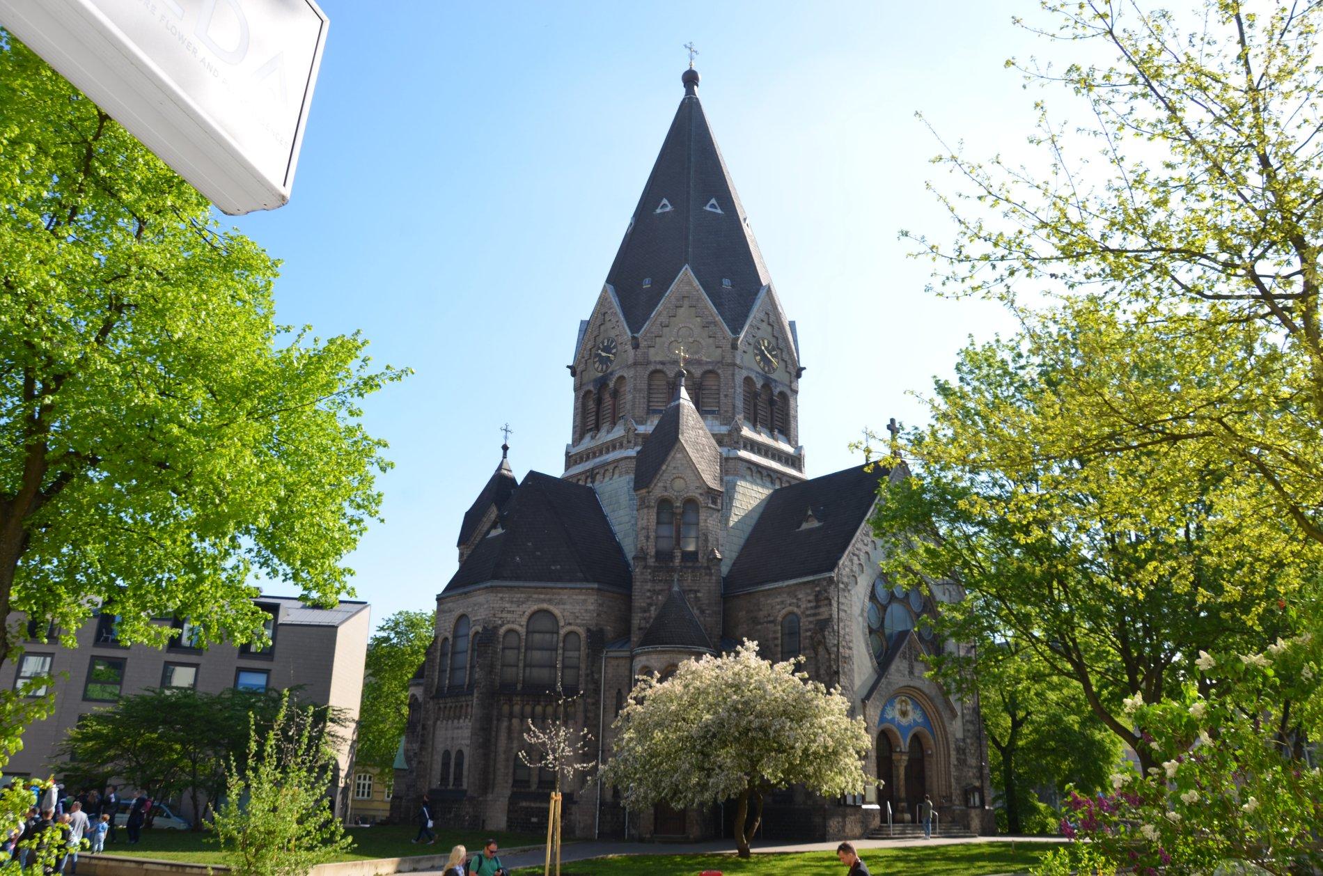 Russisch-orthodoxe Kirche am Tchaikowskiplatz