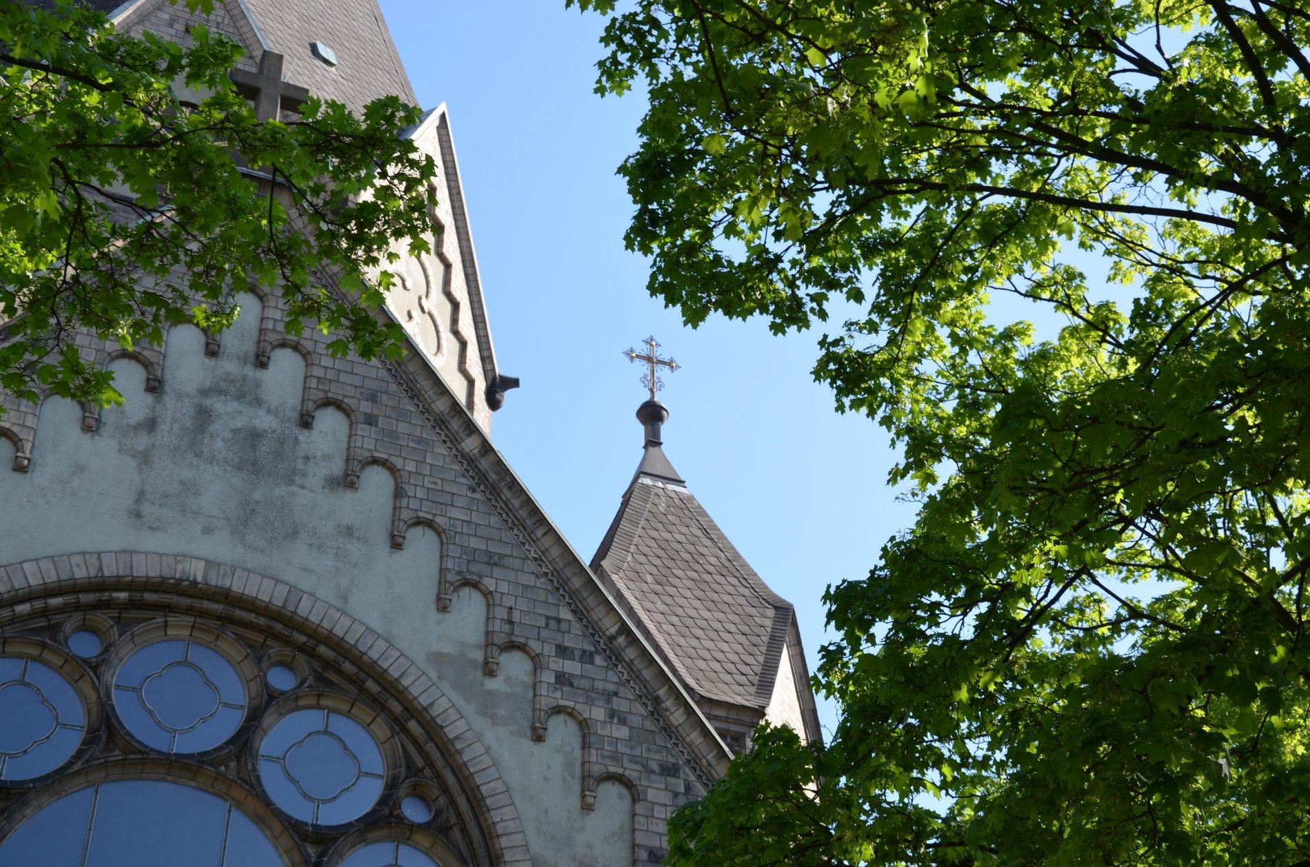 Russisch Orthodoxe Kirche am Tchaikowskiplatz