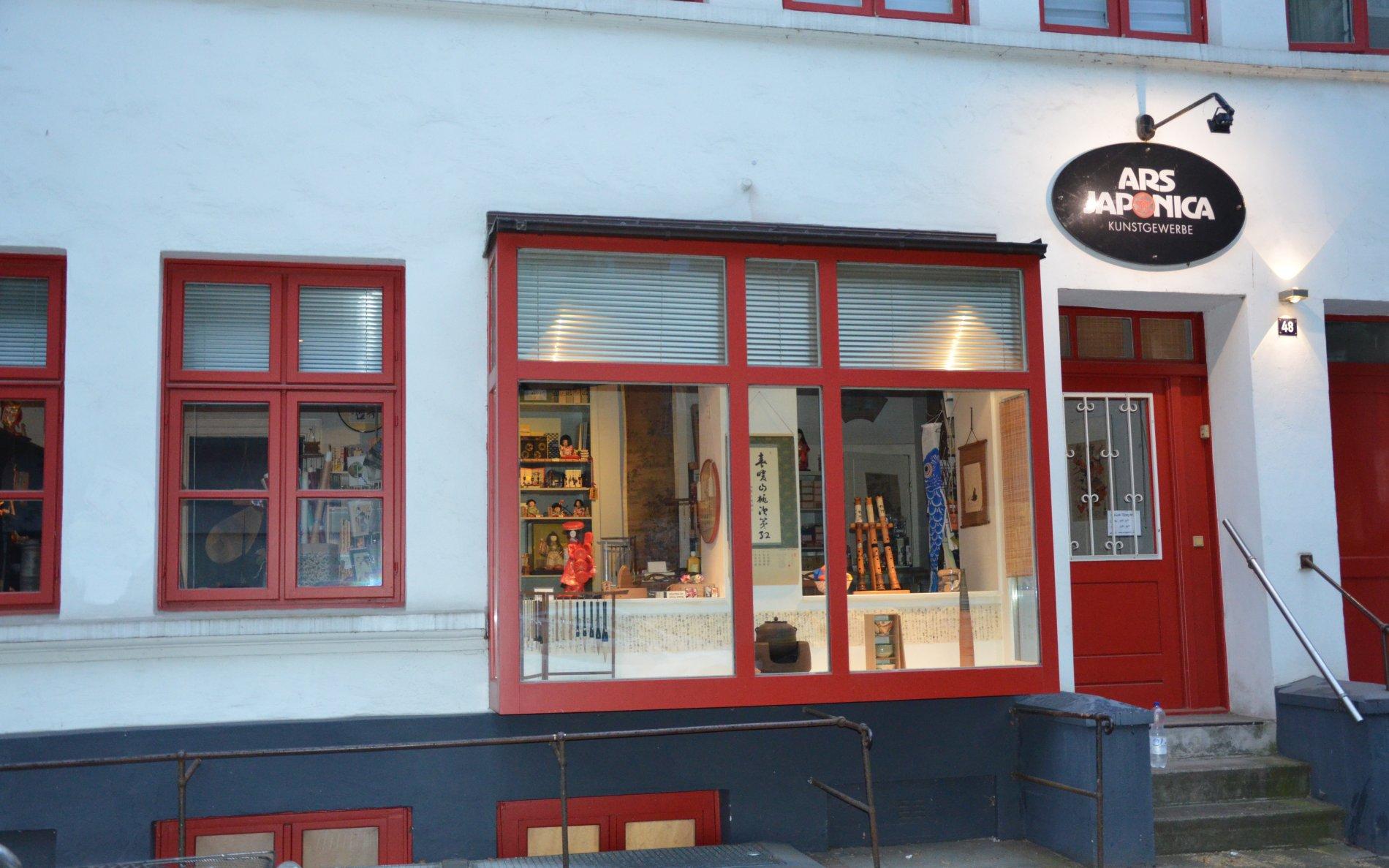 Japanisches Kunsthandwerkergeschäft in St. Pauli