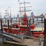 Das rote Feuerschiff liegt jetzt im Hamburger Hafen, fuhr aber im englischen Kanal und ersetzte einen feststehenden Leuchtturm.