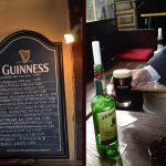 Und ein Guinness muss einfach sein, wenn man Durst hat.